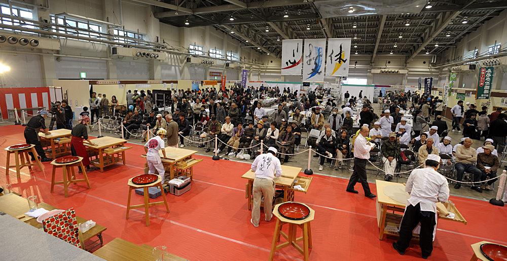 パーマリンク先: 日本蕎麦 伝統技能保持者